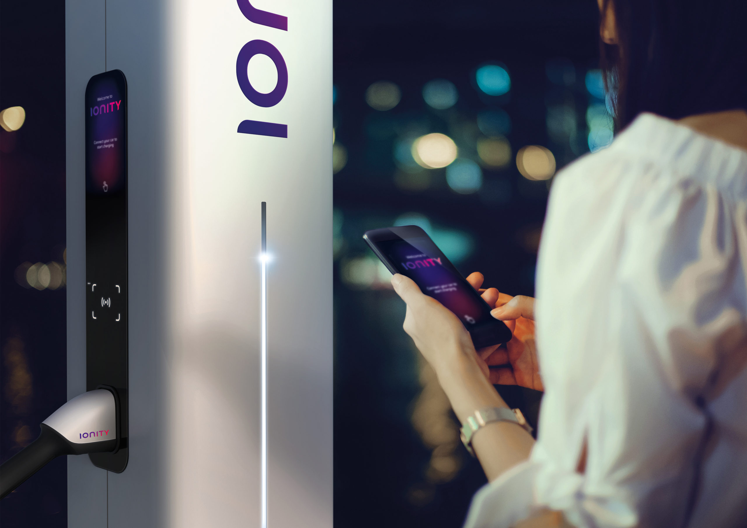 Ionity Charging Station App